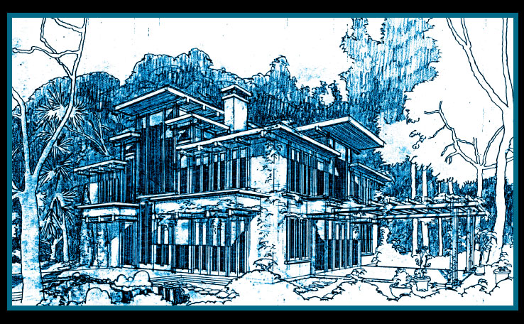 Private residence in Napa. Passive solar. Salvaged redwood and Limousin Oak.